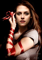 Kristen Stewart, actress, as Bella Swan in the Twilight Saga movies