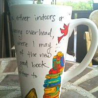 Book Love Art - Ophelia's Quote Mugs
