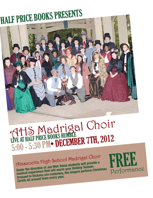 Madrigals at HPB
