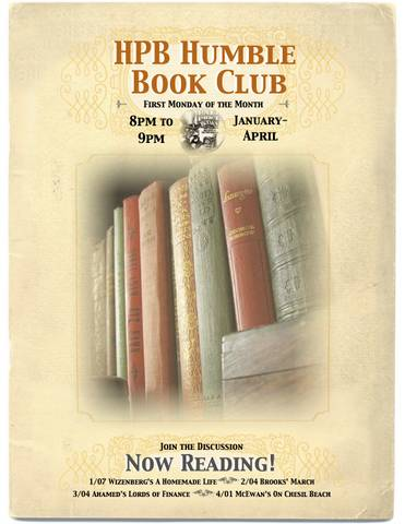 HPB Humble Spring Book Club Picks!