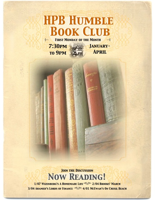 HPB Book Club Spring 13 730