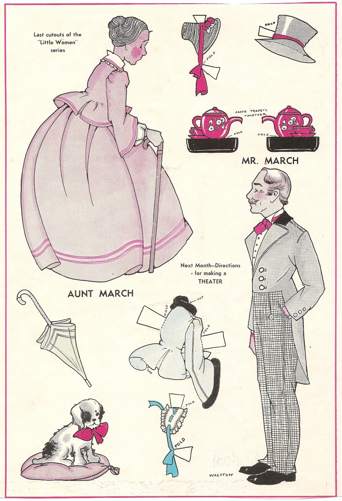 mr march paper dolls