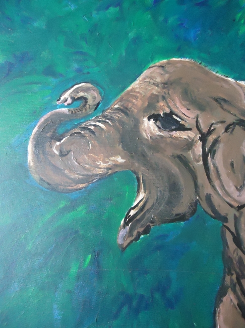 The Elephant in the Room by A.K. Klemm