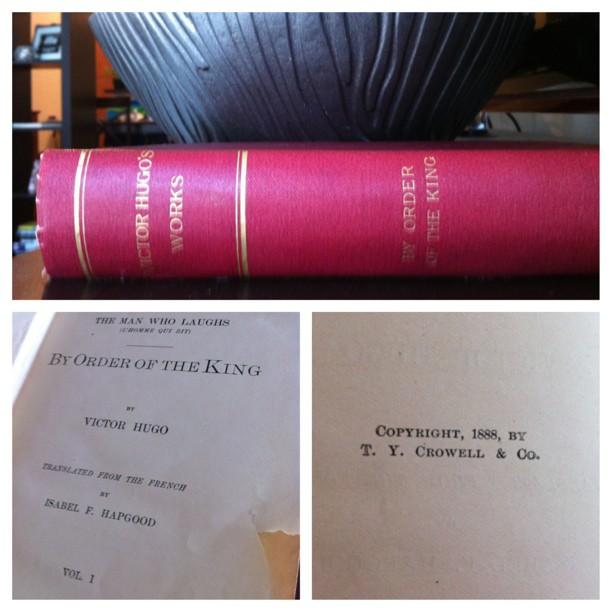 Antique Book Find