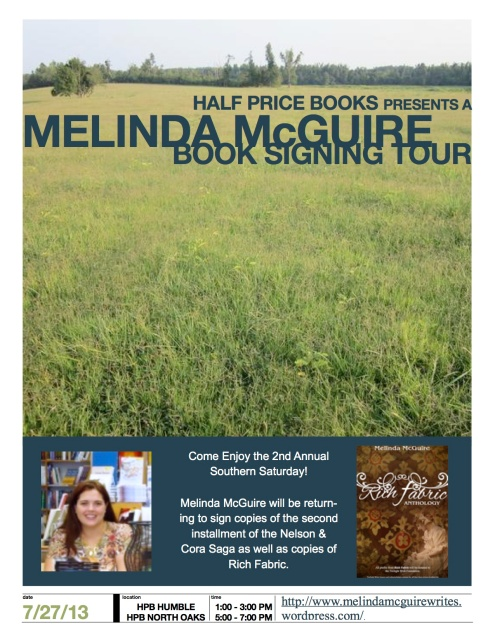 Melinda McGuire July 2013