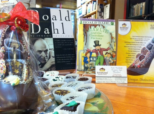Roald Dahl chocolate table 4