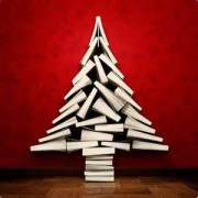 Christmas tree with book
