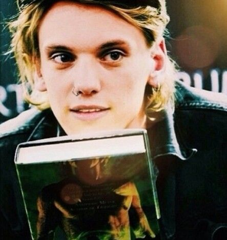 Jace with Book